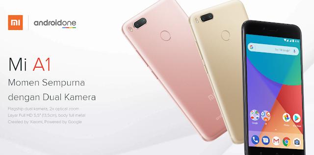 Review Singkat Kekurangan Serta Kelebihan Xiaomi Mi A1 : Android One Google