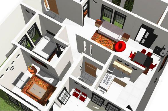 Desain Rumah Minimalis Biaya Murah - Berbagi info interior & Perkiraan Biaya Bangun Rumah Minimalis Type 45 - Rumah Mini