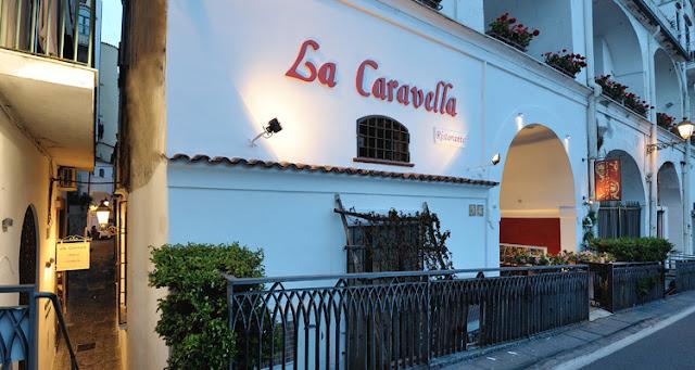 Restaurante La Caravella em Amalfi