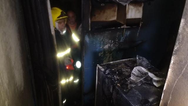 Incêndio destrói cozinha de apartamento de Campina Grande