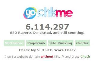 Cara Agar Skor SEO Blog 100% di Chkme