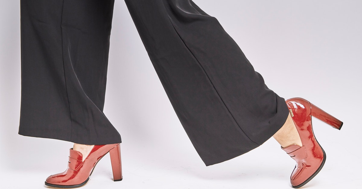 Ditch the High Heels