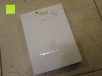 Verpackung: Leicke MANNA Schutzhülle Apple iPad Air 2 braun