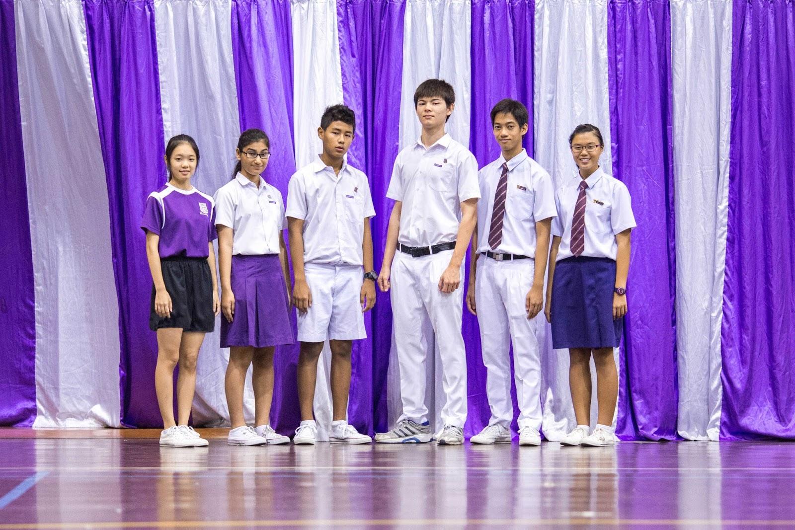 SSU Singapore School Uniforms: QSS Queensway Secondary School