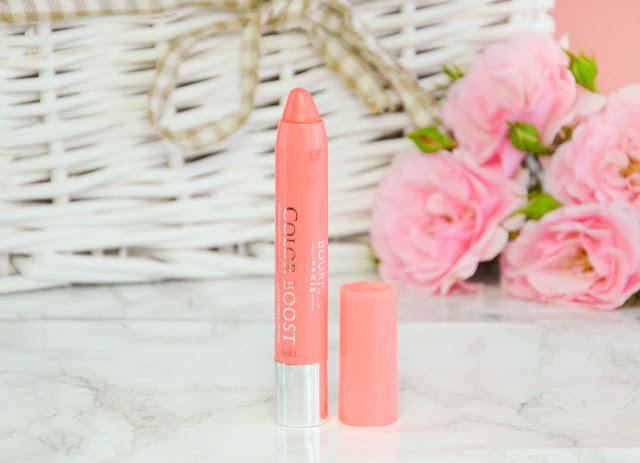 Color Boost Glossy Finish Lipstick 04 Peach on the Beach
