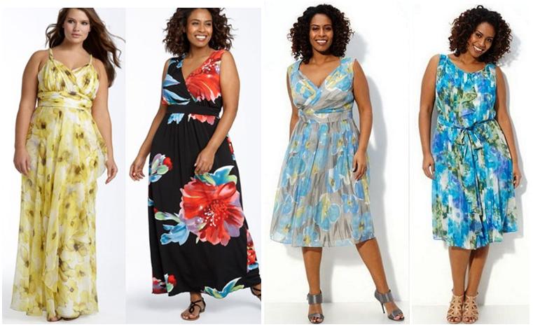 Платья для полных 2017: лучшие тенденции Plus Size