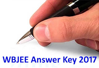 WBJEE 2017 Answer Key, WBJEE Answer Key 2017, WBJEE Medical Answer Key 2017