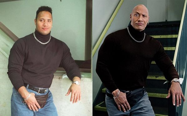 The Rock Took Back His Photo Of 1996