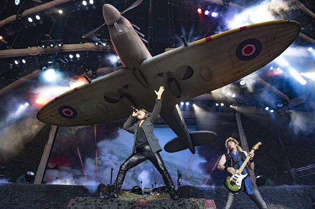 Iron Maiden Spitfire Legacy Beast Tour