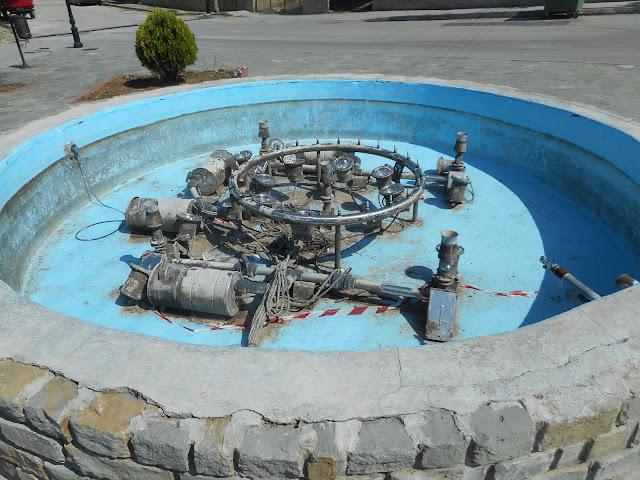 ΤΣΟΤΥΛΙ -Ενα  συντριβάνι και αυτο χωρίς νερό