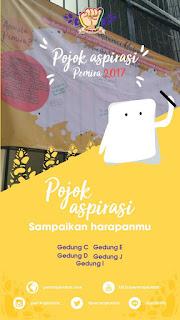 "''POJOK ASPIRASI"" PEMIRA PKN STAN 2017"
