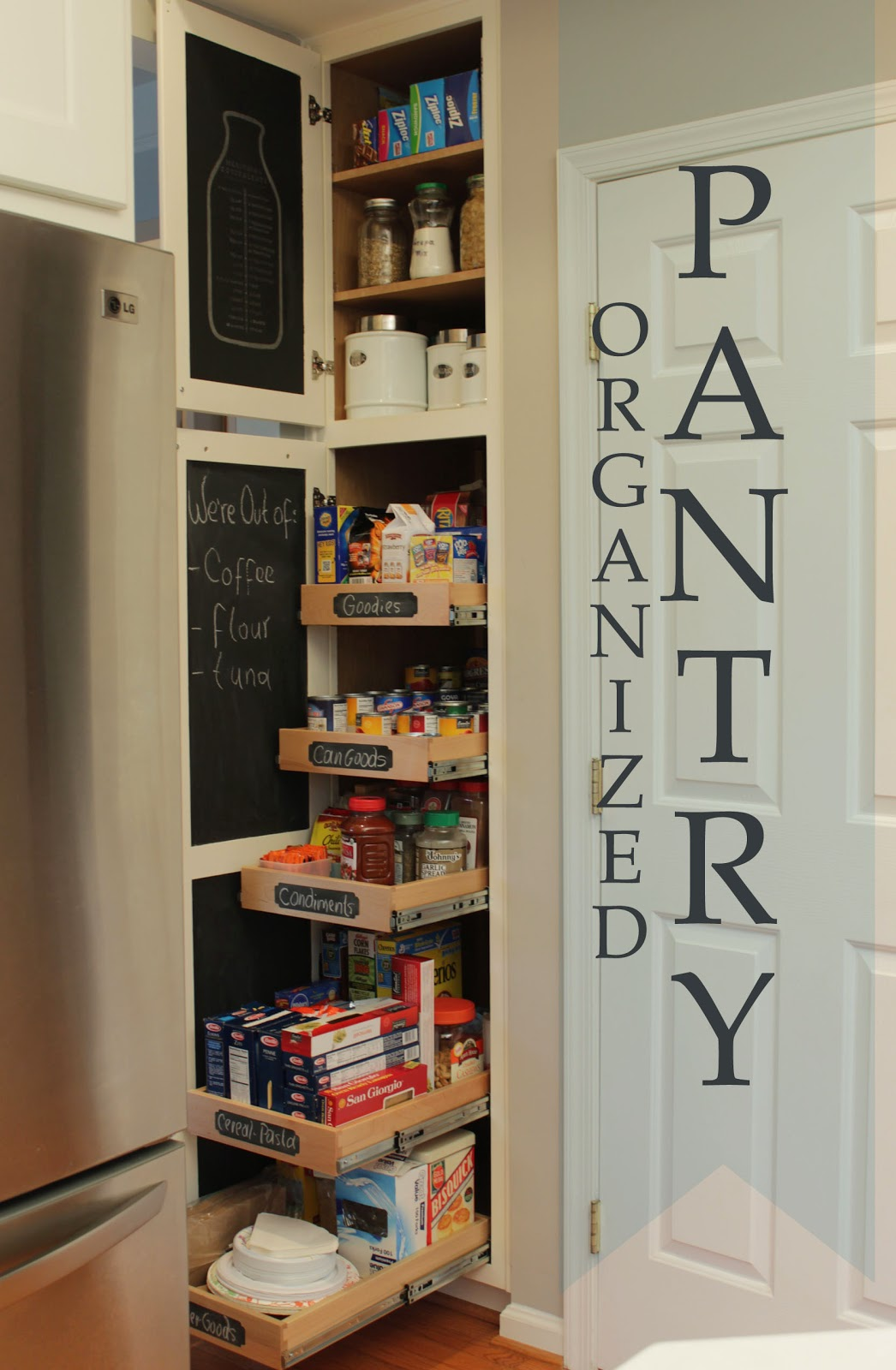 chalkboard labels used to decorate around your home