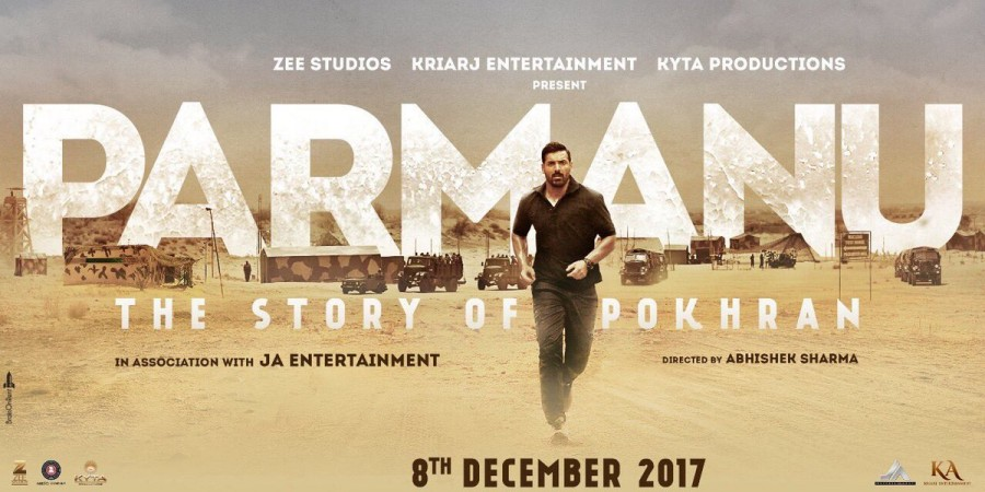 Parmanu Film The Story of Pokhran First Look Poster