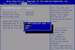Difference between UEFI and Legacy Mode in BIOS