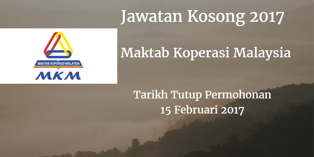 Jawatan Kosong MKM 15 Februari 2017