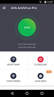 AntiVirus PRO Android Security screenshot 0