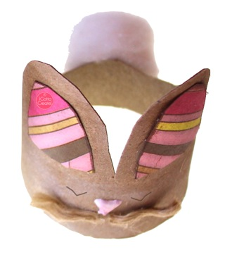 Cute TP tube Funny Bunny tutorial at I Gotta Create!