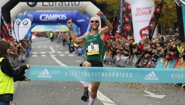 Jaume Leiva y Aroa Merino logran la victoria en la Behobia-San Sebastián 2018