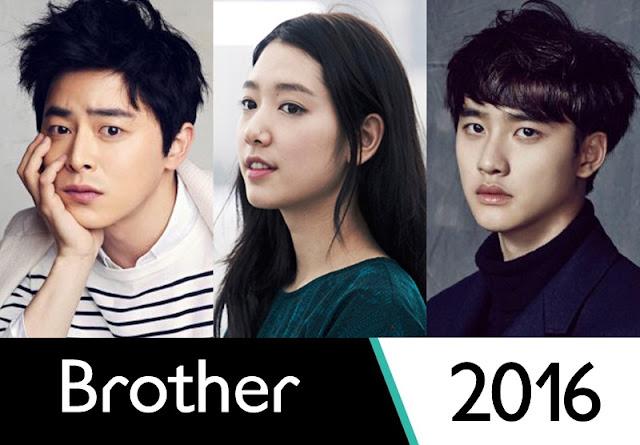 Brother Upcoming Korean Movie 2016 Cho Jung Seok, Park Shin Hye & Do Kyung Soo