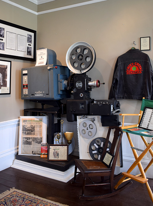 Riverwood Studios Movie Projector | Senoia Area Historical Society Museum | Photo: Travis S. Taylor