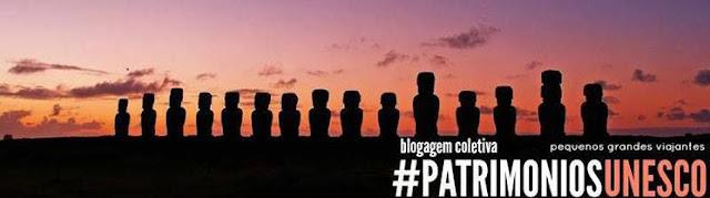 logo blogagem coletiva #patrimoniosUNESCO