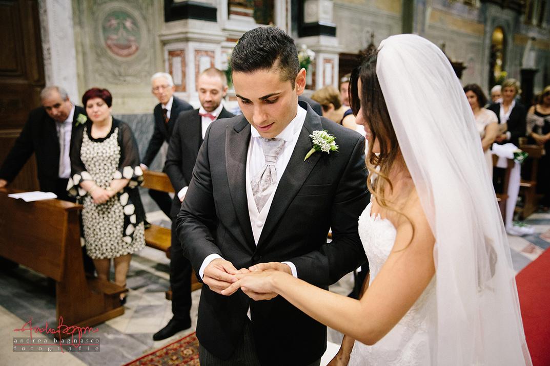 scambio anelli sposi Genova