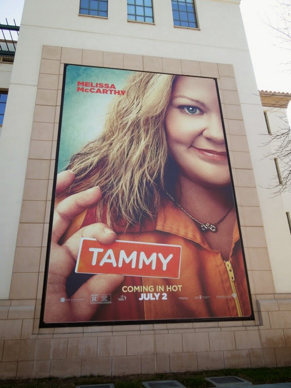 Tammy movie teaser billboard