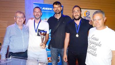 Απονεμήθηκε ο τίτλος του πρωταθλητή στον ΑΟΚ Χανιά