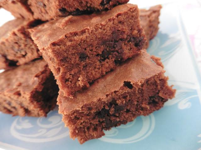 ♥ Recette de Brownies au Chocolat et Caramel ♥