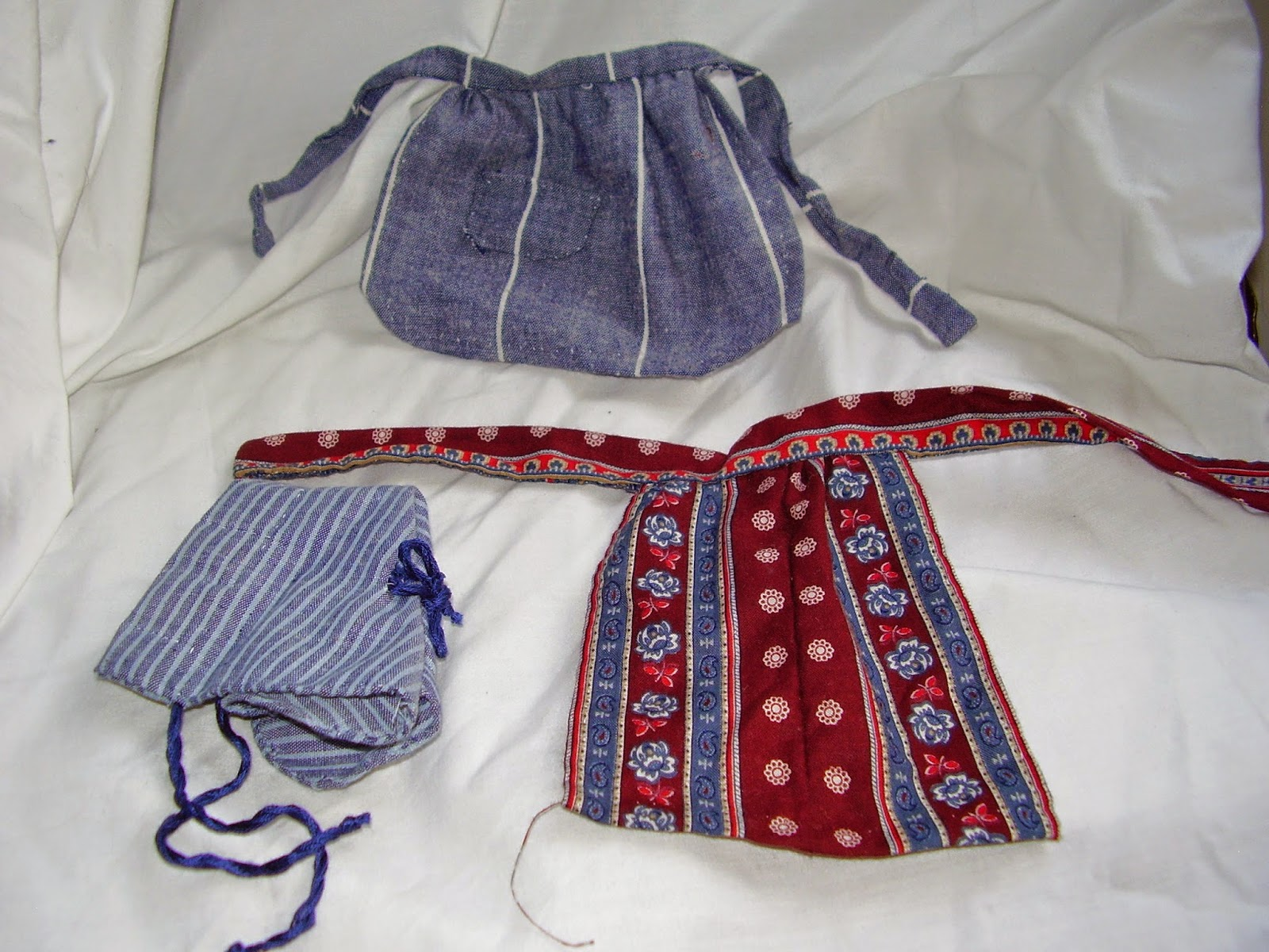 HMP-400 cloth doll with undergarments.