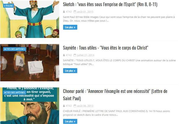 LETTRES DE SAINT PAUL