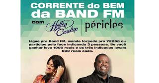 Fazer Inscrição Promoção Corrente do Bem Band FM