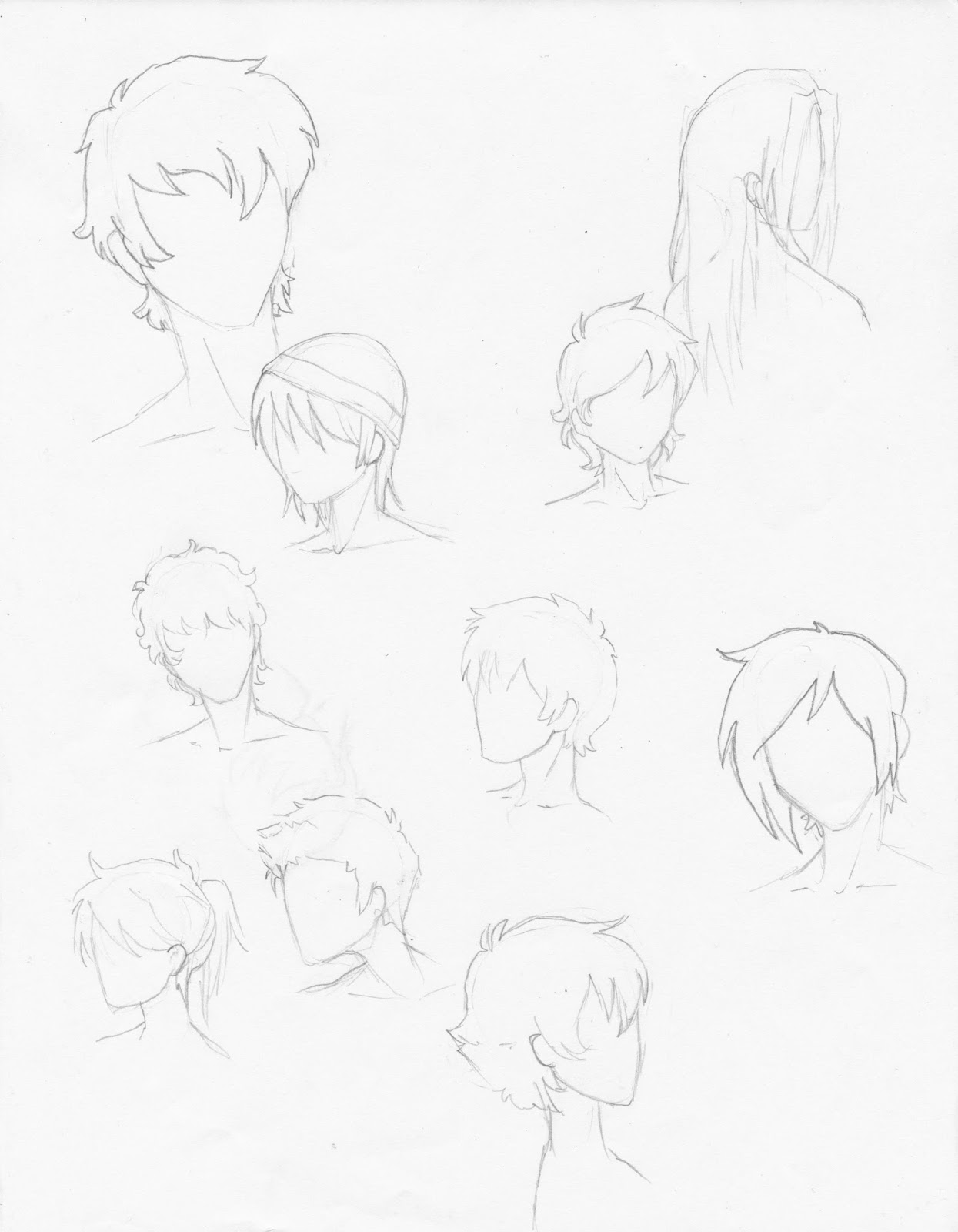 Manga Interest 10 Male Manga Hairstyles