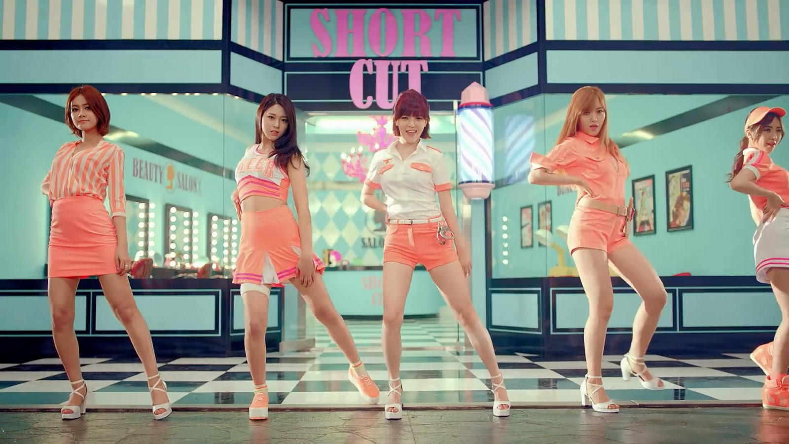 Kpop Aoa Short Hair Screen Caps Kpop News And Lyrics