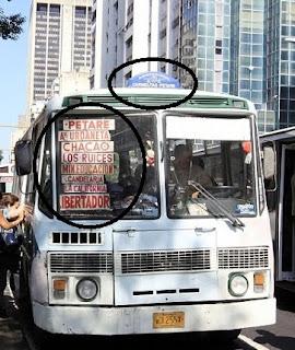 En Caracas, el transporte público tampoco es de calidad pero está mejor organizado