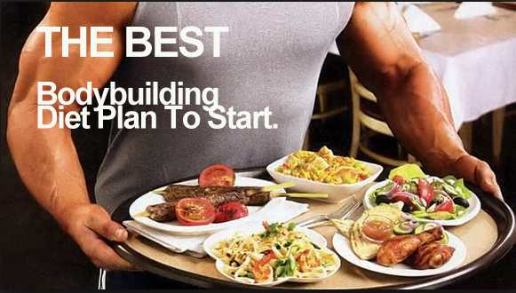 Suggested nutrition for bodybuilding