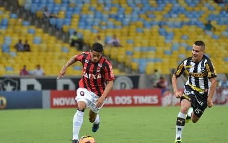 Assistir Botafogo x Atlético-PR ao vivo grátis em HD 11/11/2017
