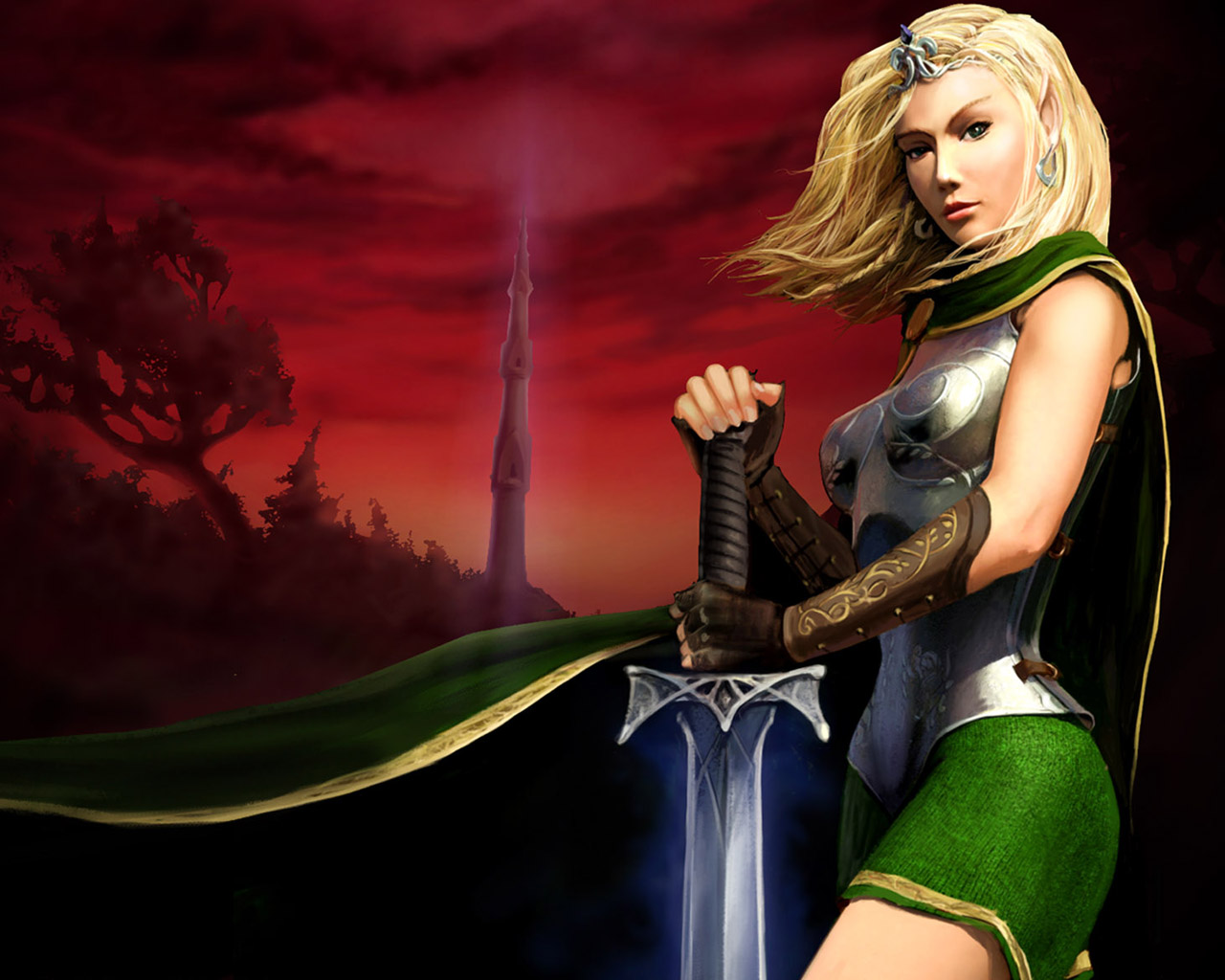 Education Images 3d Female Warriors Art Wallpapers Gallery