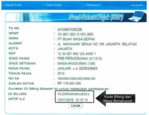 id billing pajak