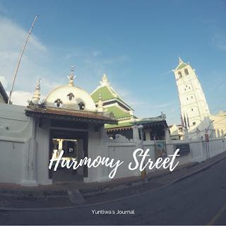 tempat wisata menarik di Melaka - harmony street