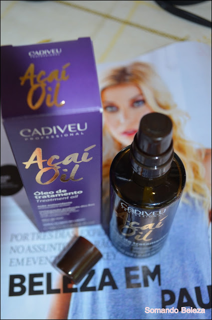 Somando Beleza, Cadiveu Professional, Aãí Oil, óleo de Tratamento