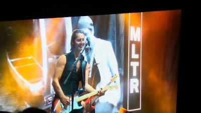 Penampilan gitaris MLTR Mikkel Lentz yang tak kalah memukau (dok.windhu)