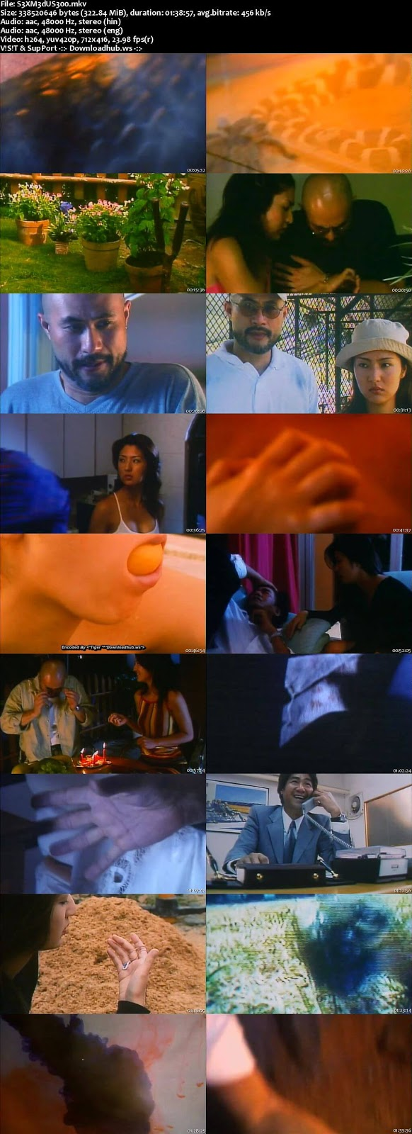 Sex Medusa 2001 Hindi Dual Audio 480p DVDRip Download