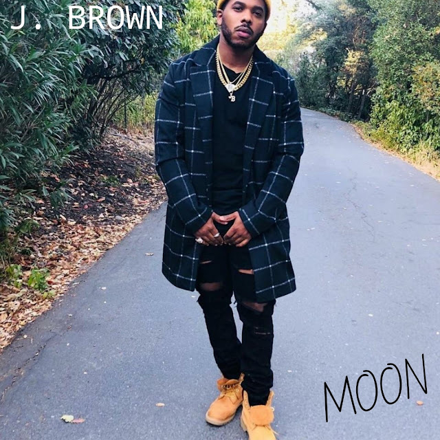 """Billboard Chart-topping Recording Artist J. BROWN Releases New Single, """"MOON"""""""