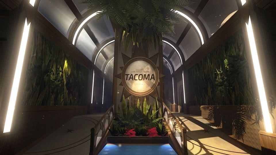 Tacoma, The Fullbright Company, PC, PS4, приключение, космос, фантастика, симулятор ходьбы, SciFi