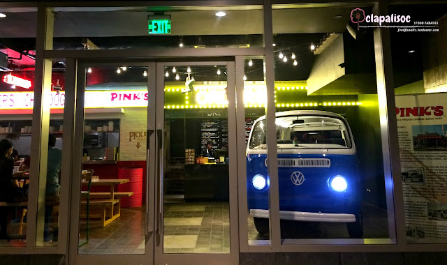 Restaurant details of Pink's Hot Dogs Manila