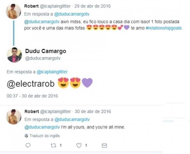 Dudu Camargo deleta perfil no Twitter após mensagens antigas para ex que o acusou de agressão