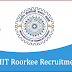 INDIAN INSTITUTE OF TECHNOLOGY ROORKEE: OPENING POST FOR PROJECT POSITIONS 2018