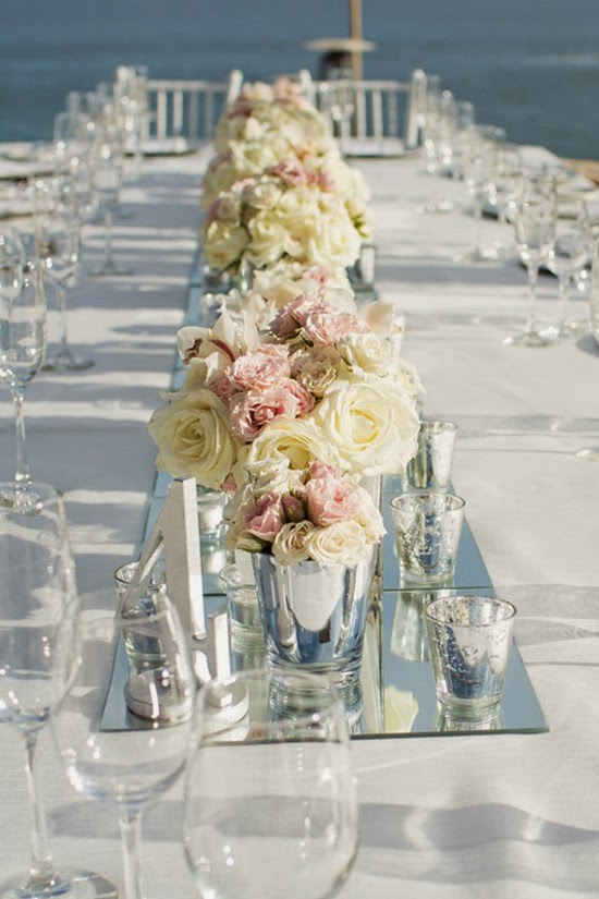 table centerpieces for wedding Centerpieces beach wedding