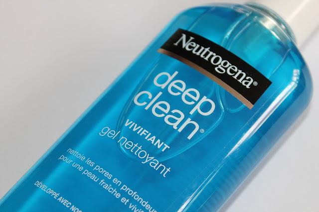 Gel Nettoyant Vivifiant Deep Clean - Neutrogena